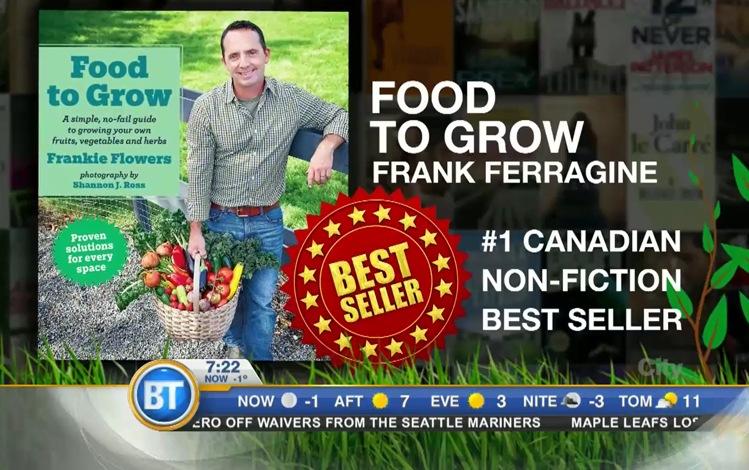 Food to Grow - Best selling Canadian Non-fiction book