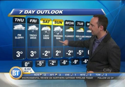 Frank Ferragine Weatherman
